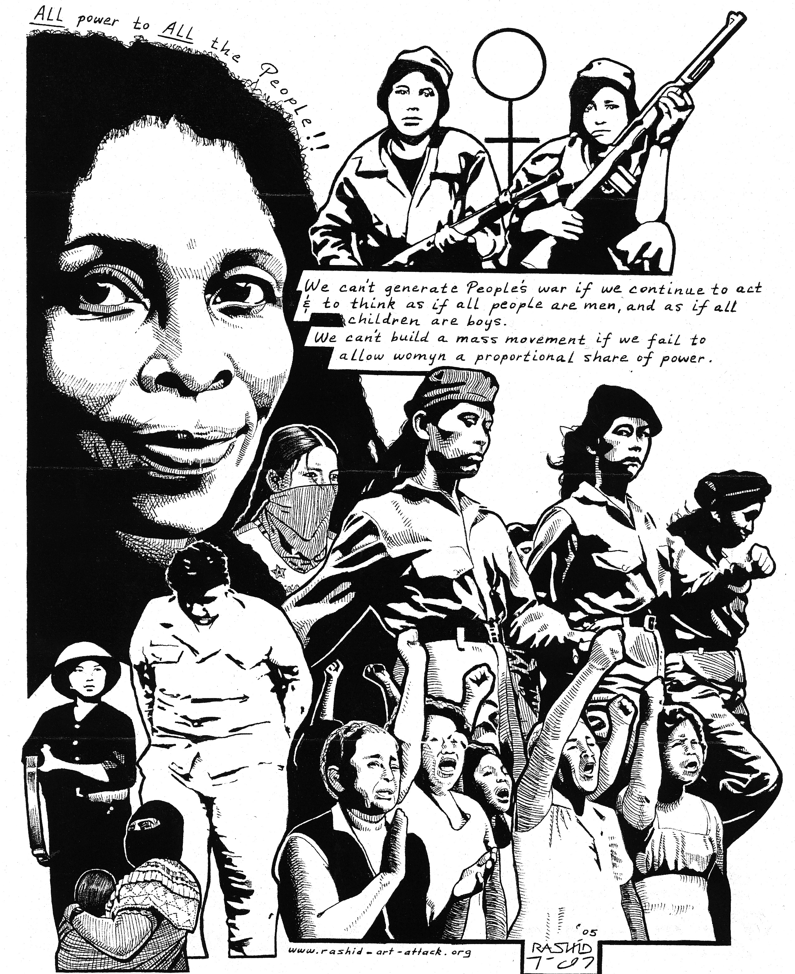 Womyn Freedom Fighters
