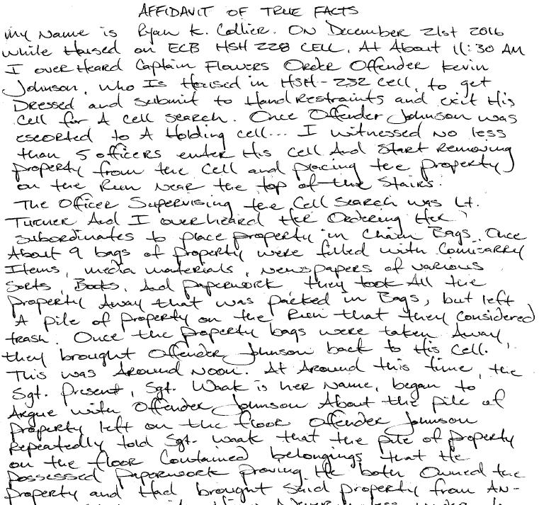 Texas Prison Conditions | Rashid, Page 2