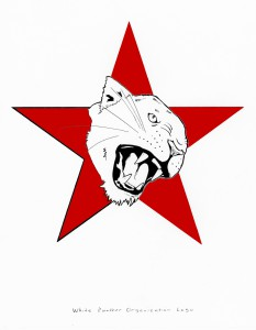 whitepantherorganization_red