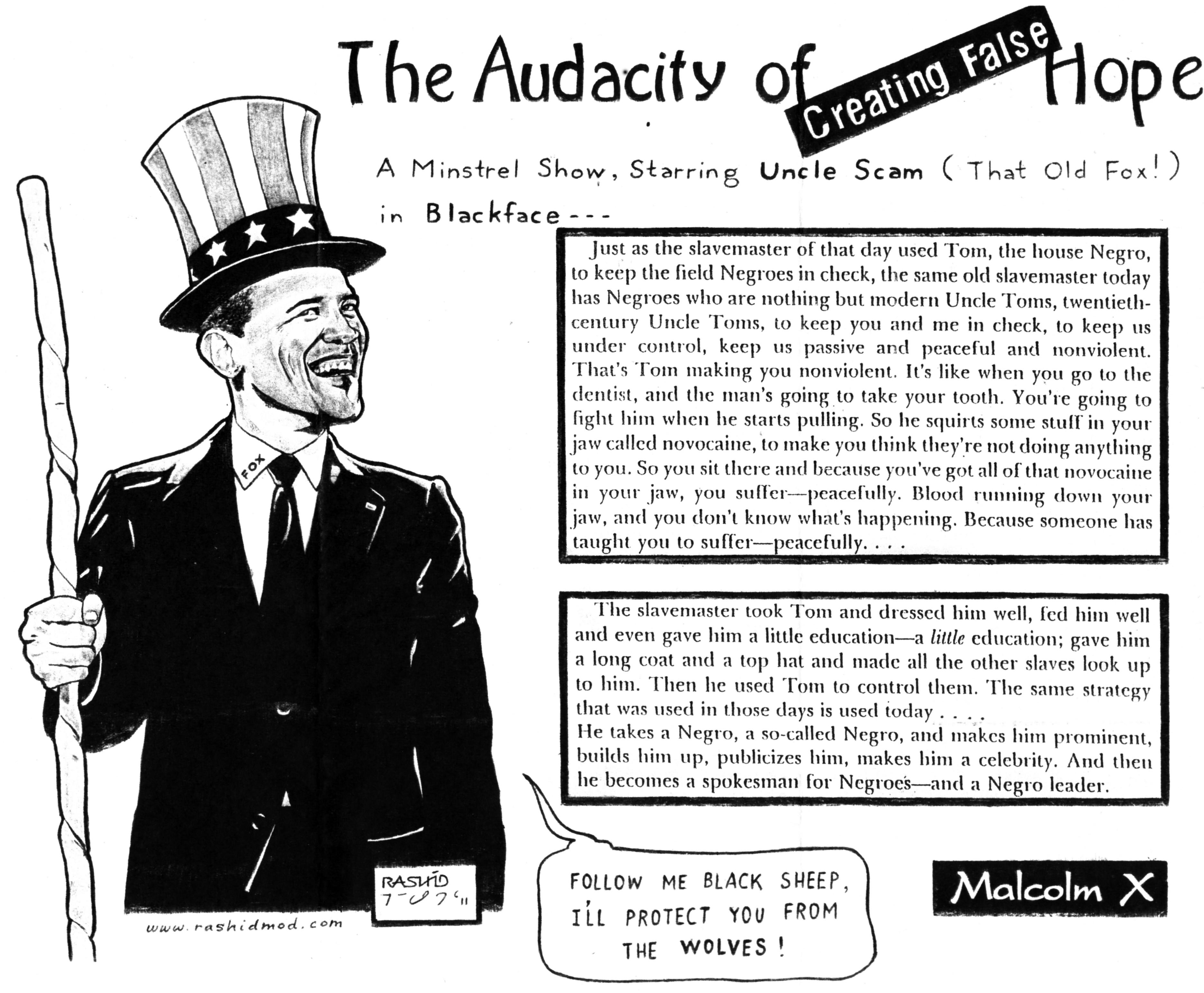 The Audacity of False Hope