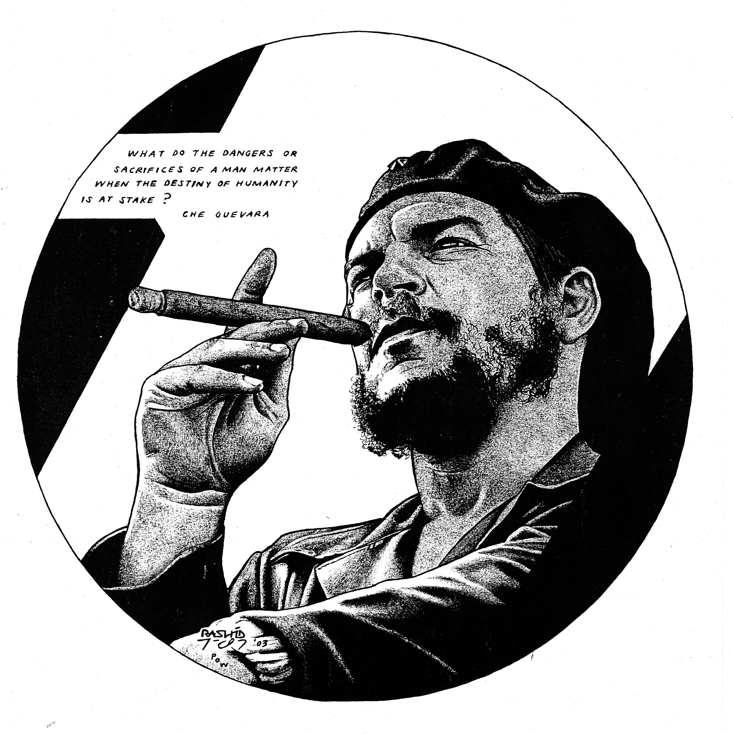 Che Round Portrait