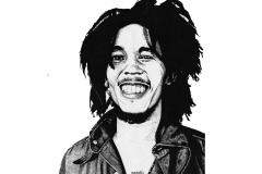 Young Bob Marley
